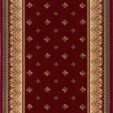 Red Runner Rug Roll Runners Stair Treads U0026 Runners The Home Depot