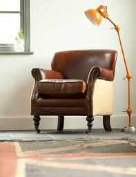 Leather Armchairs Vintage Modern Makeover And Decorations Ideas Antique Leather Armchair