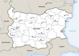 Map Of Bulgaria A Capital At Crossroads Sofia Bulgaria Activates Cultural