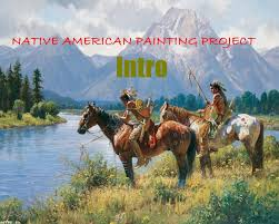native american painting project intro youtube