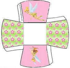 tinkerbell free printable boxes parties free