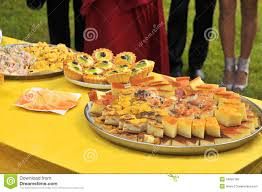 outside party outdoor party stock image image of homemade edible 34062189