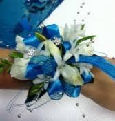 Teal Corsage Corsages Flower Jazz Ga