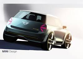 porsche concept sketch mini electric concept car body design