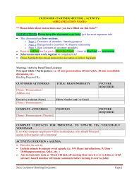 meeting summary template word nfgaccountability com