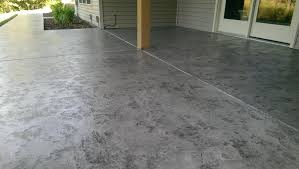 Tuscan Style Flooring Decorative Concrete Tuscan Slate Acid Stain Antique Overlay 573