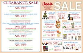 our current sale ad u2014 dee u0027s