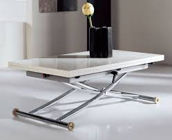 desk dining table convertible transforming table space saver space saver spaces and white gloss