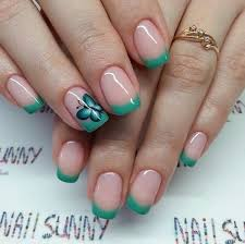 30 butterfly nail art ideas butterfly nail art and blue green