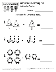 christmas fraction worksheets worksheets