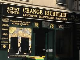 bureau de change rue vivienne change richelieu bijoux anciens et d occasion 78 rue de richelieu