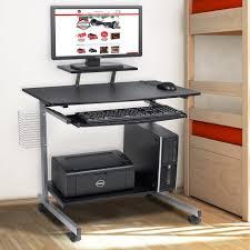 Mobile Computer Desks Workstations Slim Computer Desk Small White Corner Desk Workstation Cart