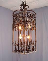 Gothic Chandelier Wrought Iron Wrought Iron U0026 Antler Chandeliers U0026 Lighting Rustic Tuscan