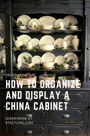 how to arrange a corner china cabinet decorating the china cabinet and hutch for winter