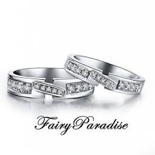 promise ring engagement ring wedding ring set affordable lab created diamond engagement rings by fairyparadise