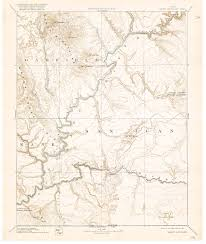 Map Of Utah And Arizona Collection C 007 Usgs Topographic Map Of Henry Mountains Utah