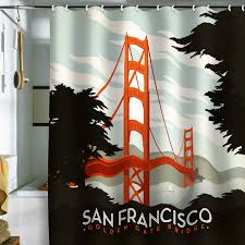 Shower Curtain For Sale Vintage Travel Posters Made Into Shower Curtains Sale At Fab