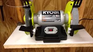 8 Bench Grinders 8 Inch Ryobi Bench Grinder Review Youtube