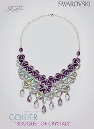 making swarovski crystal necklace images Diy swarovski crystal necklace free design and instructions png
