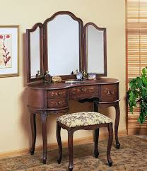 Lighted Vanity Table With Mirror And Bench Table Excellent Rectangle White Wooden Makeup Vanity Table With