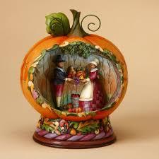 beautiful harvest season and thanksgiving figurines