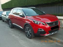 pejo araba peugeot 3008 spotted in the wild post unveil cars daily updated