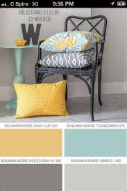 image result for color palette navy butter yellow gray aqua