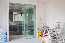 separation de chambre séparation en verre comment isoler la salle de bain de votre chambre