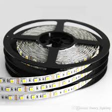 Dimmable Led Strip Lights 8w Led Strips Light Dc 12v Round 2 Wire Dimmable Flat 4 Wire Smd