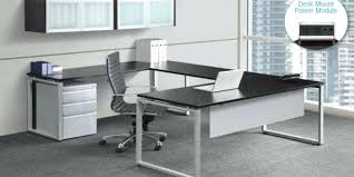 Modern L Desk Modern U Shaped Desk Modern U Shape Desk With Wall Mounted