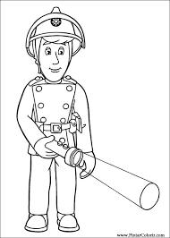 drawings paint u0026 colour fireman sam print design 010