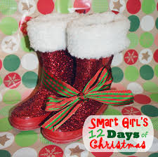 upcycled rain boots to santa boots easy christmas craft