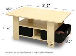 coffee tables appealing zuo modern macho coffee table walnut