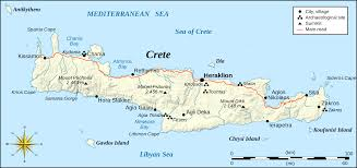 Map Greece by Where Is Crete In Greece Map