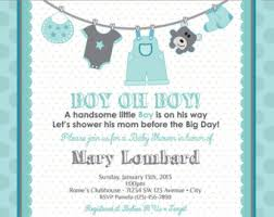clothesline baby shower invitations etsy