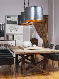 modern monochrome green apartment industrial dining room lighting