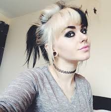 two ear hairstyle 25 amazing two tone hair styles trendy hair color ideas 2018