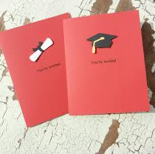 handmade graduation invitations 10 pack red 14 00 via etsy