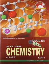 moderns abc of chemistry for class xi set of 2 parts with cd old