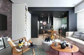 decoration salon avec cuisine ouverte deco salon americain piace salon cuisine avec une dacco originale