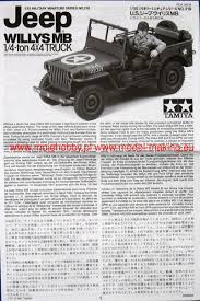 willys jeep truck us jeep willys mb 1 4 ton truck tamiya 35219