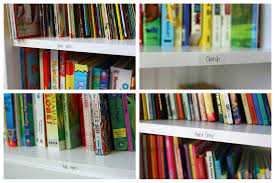 organized bookshelf u0026 girls u0027 room the sunny side up blog