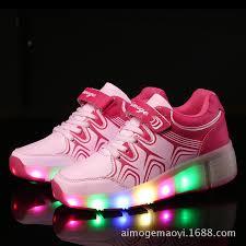 heelys light up shoes children heelys led light shoes boys girls luminous glowing
