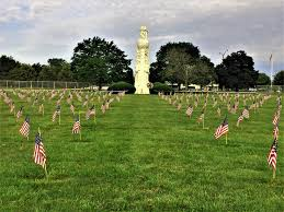 Memorial Garden Flags White Chapel Memorial Park Cemetery In Troy Michigan Find A