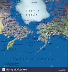 Maps Alaska by Globe Map Maps Arctic North Pole Alaska Sibiria Bering Street
