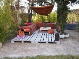 canapé exterieur en palette salon de jardin en palette 21 idées à découvrir