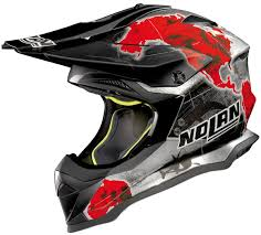 blue motocross helmet nolan n53 no entry motocross helmet motorcycle helmets