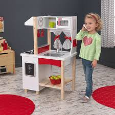 kidkraft modern island play kitchen 53330 walmart com