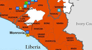 west africa map ebola ebola outbreak updates from the field the warren alpert
