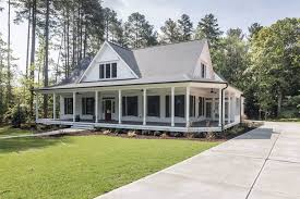 two story farmhouse home white farmhouse southern living and houselans craftsman